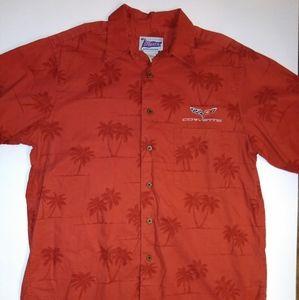 Vintage Single Stitch Corvette Hawaiian Shirt